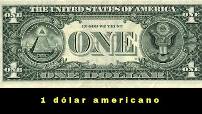 Dolar americano e o olho de Hóruz