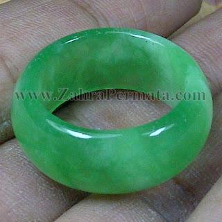 Cincin Batu Giok Jadeite Jade - ZP 1069