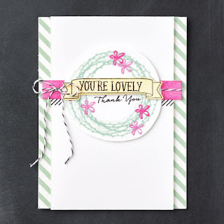 What I Love stamp set and You're So Lovely stamp set
