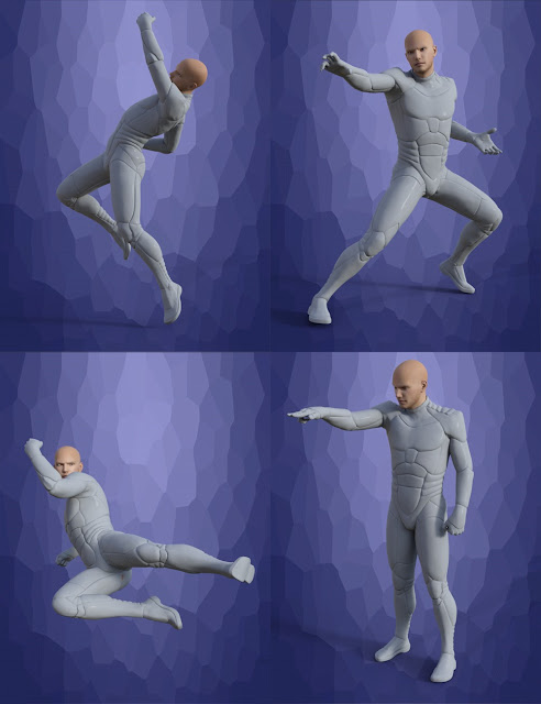 Maximus Heroes for Genesis 3 Male
