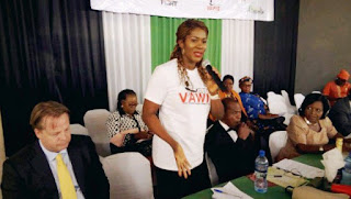 """, Nollywood Celebrity Stephanie Linus Flags Off The """"Stop VAWIE"""" Campaign In Edo State, Latest Nigeria News, Daily Devotionals & Celebrity Gossips - Chidispalace"""