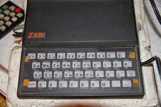 zx81 et le clavier d'extension pour zx81