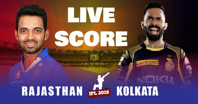 Video Highlights IPL 2018 Match 15 RR vs KKR Live Score and Full Scorecard