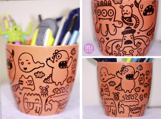 creative mug design - Cup Design Ideas