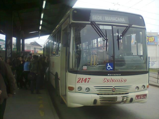 Linha SEDE/MARACANA não entrará no terminal e você terá que pagar duas passagem