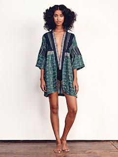 Ace & Jig Emerald Kimono