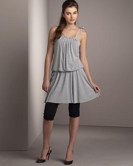 leggings with dresses - photo #38