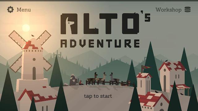 Berpetulang Di Daerah Bersalju Dengan Game Alto's Adventure
