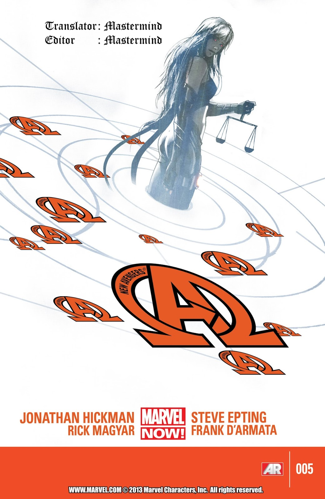 komik amerika bahasa indonesia: new avengers #5