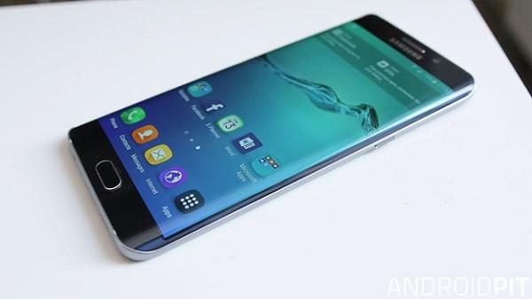 Hình ảnh về màn hình Galaxy S6 edge