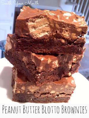 South Your Mouth Peanut Butter Blotto Brownies
