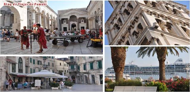 Casco antiguo de Split y el Palacio de Diocleciano, Patrimonio de la Humanidad por la UNESCO en un viaje por Croacia