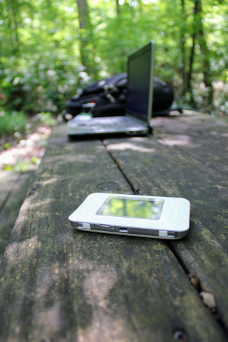 My U-Haul Camper Blog: Mobile Internet While Roaming in our