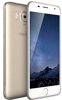 Golden White Colors Pride P85 Smartphone in Nepal