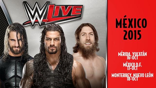 WWE Live en Mexico 2015