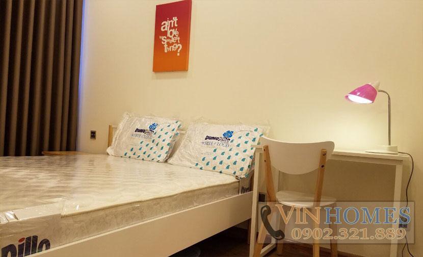 cho thuê căn hộ Vinhomes tại tháp P6 - phòng ngủ