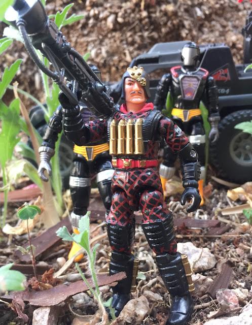 2003 Python Patrol Major Bludd, BAT, Mail Away, TRU Exclusive, 1984 Stinger