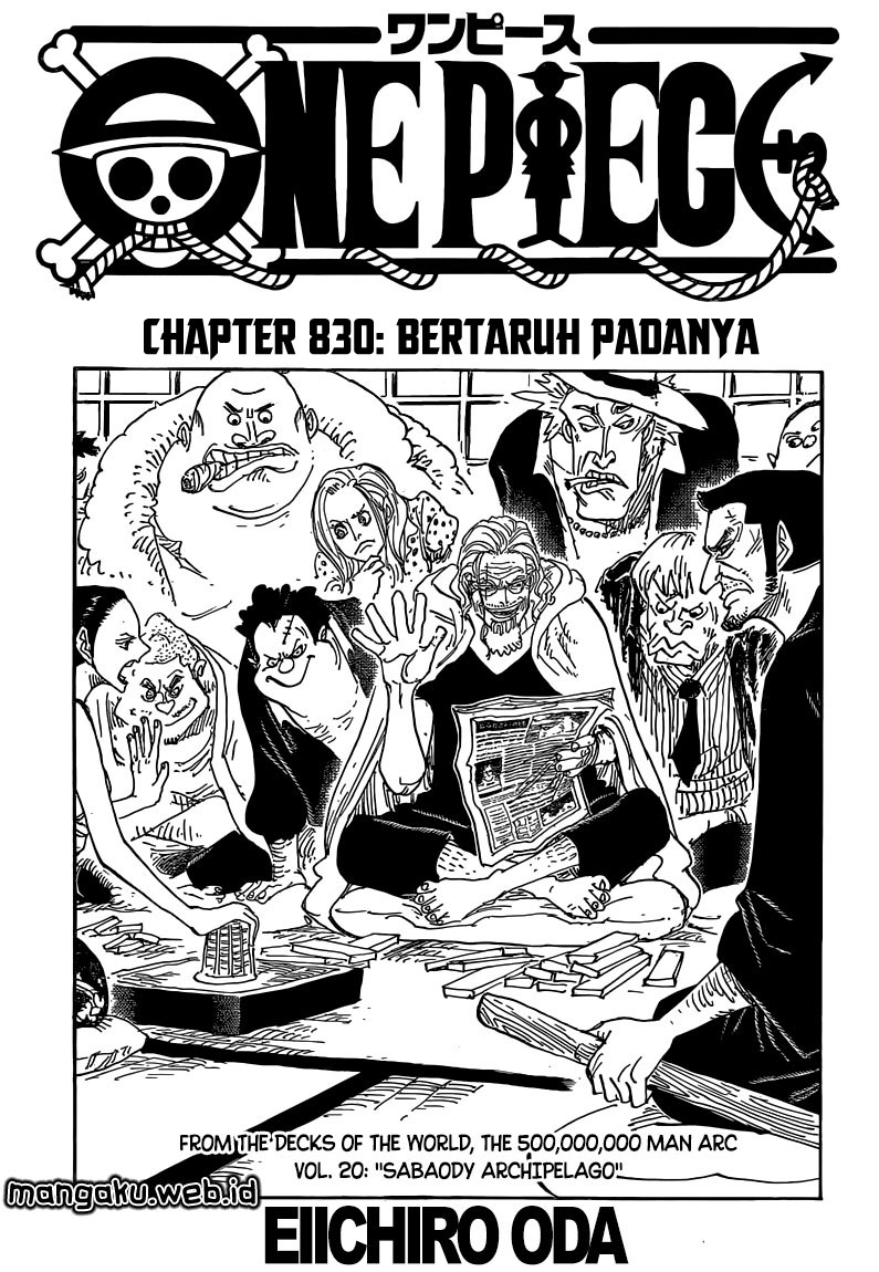 Download one piece chapter 1 sub indo.