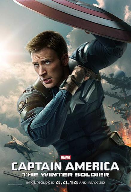 Captain America The Winter Soldier 2014 720p Bluray Dual Audio Hindi – 1.9GB