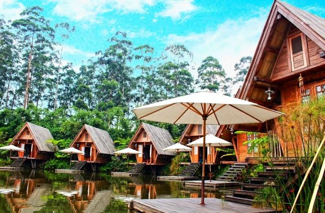 Villa Penginapan Kamar Dusun Bambu Lembang Bandung