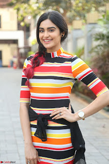 Adha Sharma in a Cute Colorful Jumpsuit Styled By Manasi Aggarwal Promoting movie Commando 2 (77).JPG