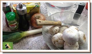 Vie quotidienne de FLaure : Potage champignons de Paris, poireau et graines de fenouil