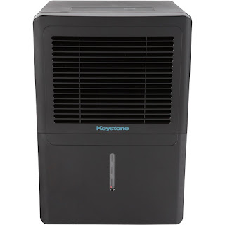Keystone KSTAD50B Energy Star 50 Pint Dehumidifier, black, image, review features & specifications