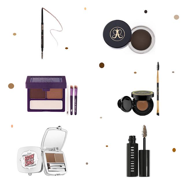 Les meilleurs produits de maquillage pour sourcils