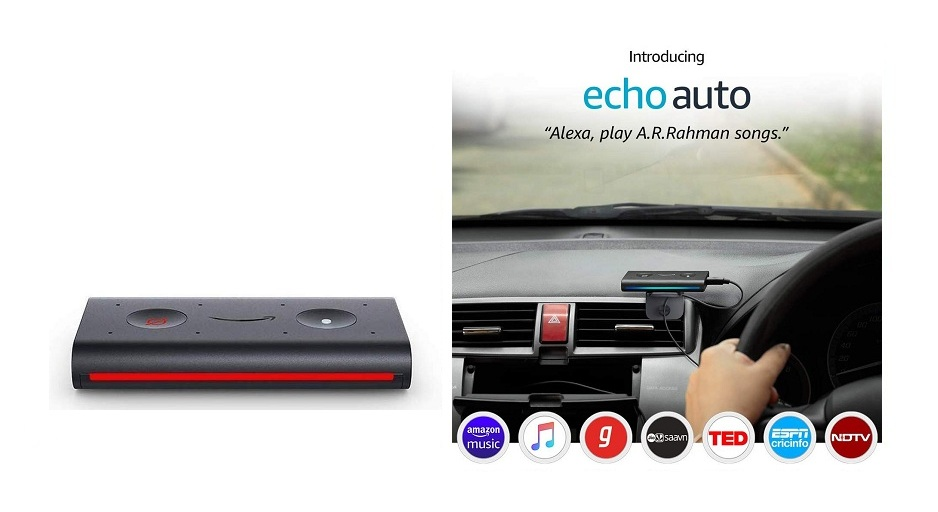 Amazon Echo Auto Alexa launched. Make your car smarter by Alexa. Book Now ...!!!