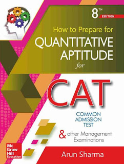 Quantitative Aptitude for CAT by Arun Sharma (8th Edition) PDF Free Download