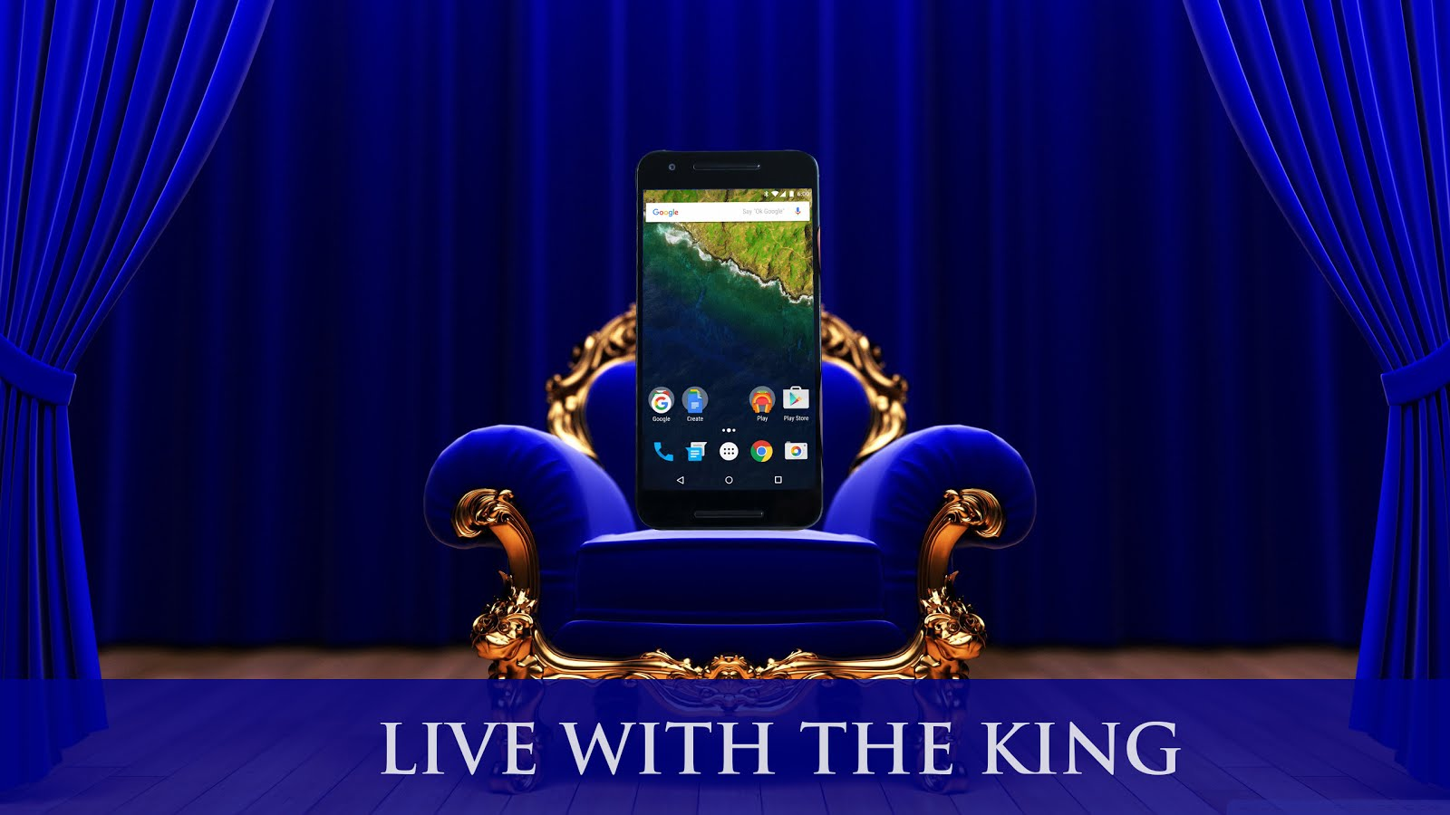 Live with the King