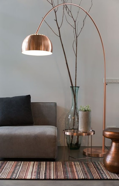 Copper, a Trend Very Industrial Lamps 12