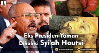 Mantan Presiden Yaman Saleh Dibunuh Pemberontak Syiah al Houthi