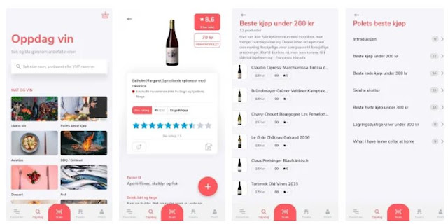 Install Smakeappen: Finn riktig vin, Taste app- Find the right wine Mobile App