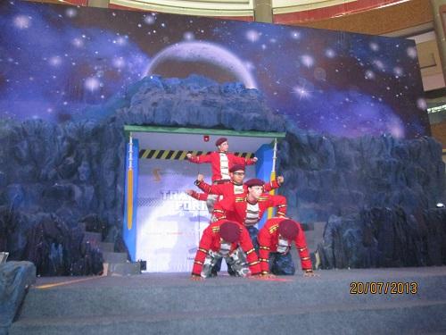 Transformers Prime Exhibition