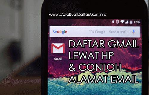 daftar gmail lewat hp android
