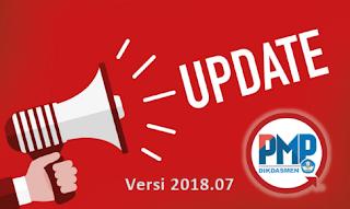 Update PMP Versi 2018.07
