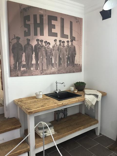 Porin asuntomessut, Bunkkeri, vanha huoltamorakennus, korjausrakennuskohde, Shell