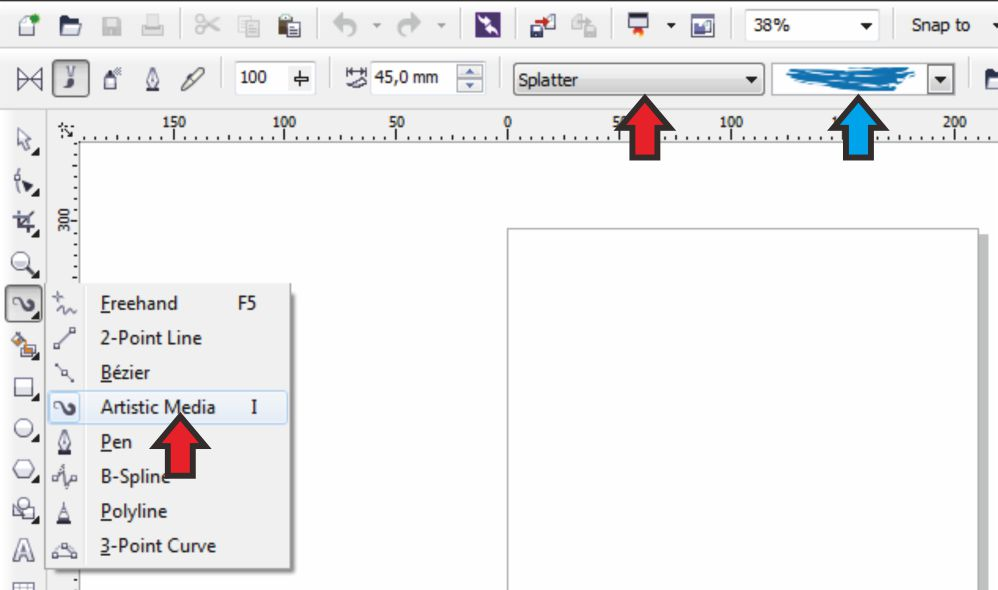 Cara Membuat Background Teks Seperti Cat dengan CorelDRAW
