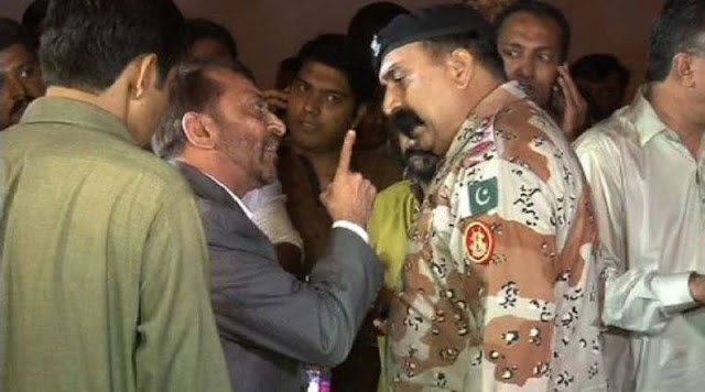 farooq sattar arrested by rangers