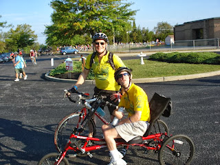 Reid and I at the first rest stop.