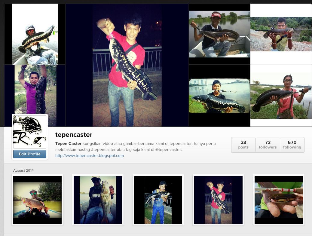 Instagram Tepen Caster