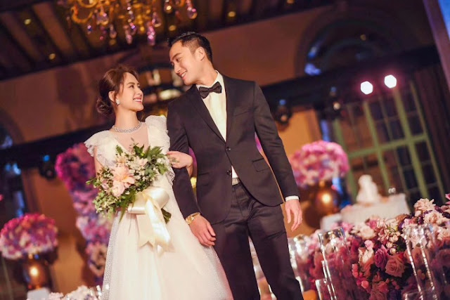 Gillian Chung Michael Lai 2018 Wedding