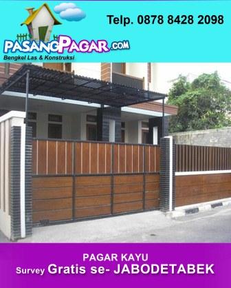 Harga Pagar Rumah : harga, pagar, rumah, Harga, Pagar, Rumah, Minimalis, Meter, Joglo, Limasan