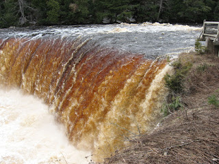 Tahquamenon Upper Falls, May 2014
