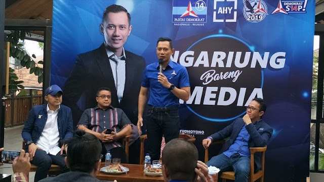 AHY Sebut Demokrat Siapkan Surprise untuk Menangkan Prabowo - Sandi