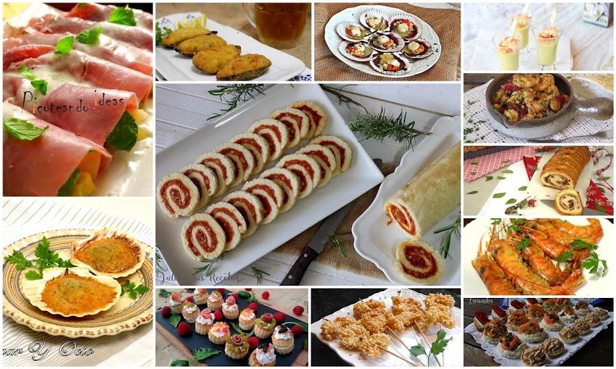 Entrant4es y aperitivos para tus comidas y cenas navideñas. Julia y sus recetas