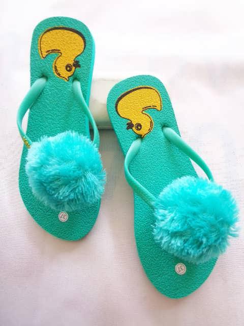 Sandal Jepit Pompom Ubur-ubur SHM Terlaris