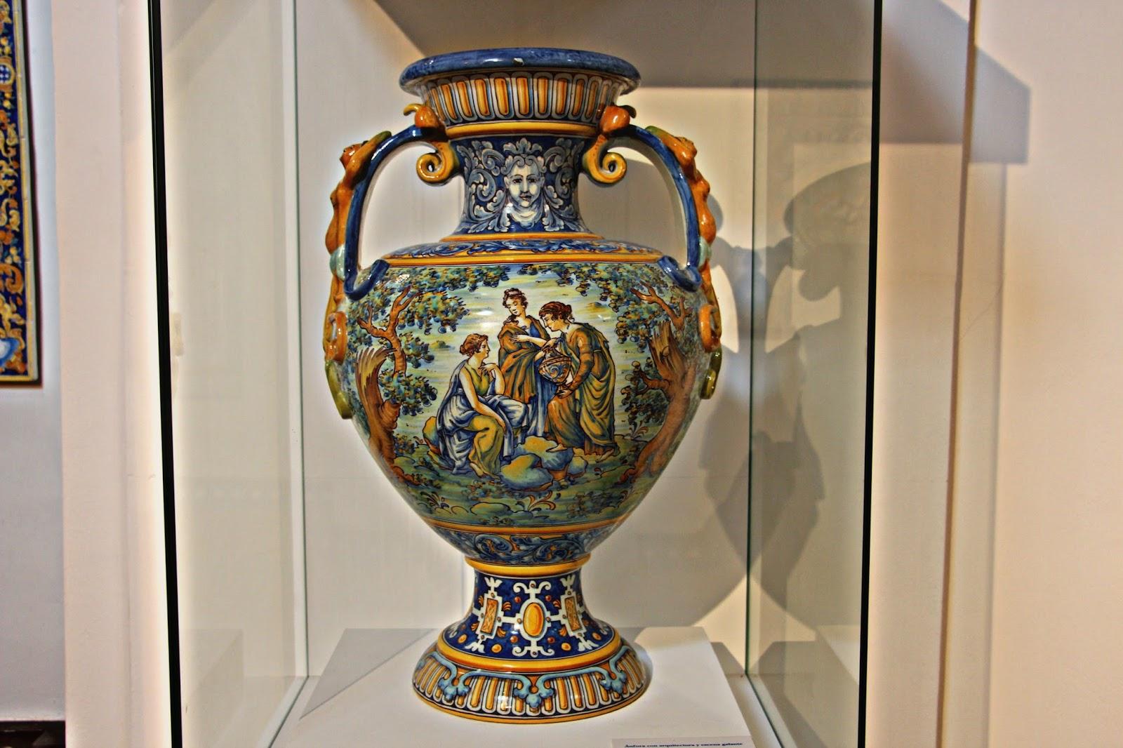 Las im genes que yo veo talavera museo de la cer mica - Talavera dela reina ceramica ...