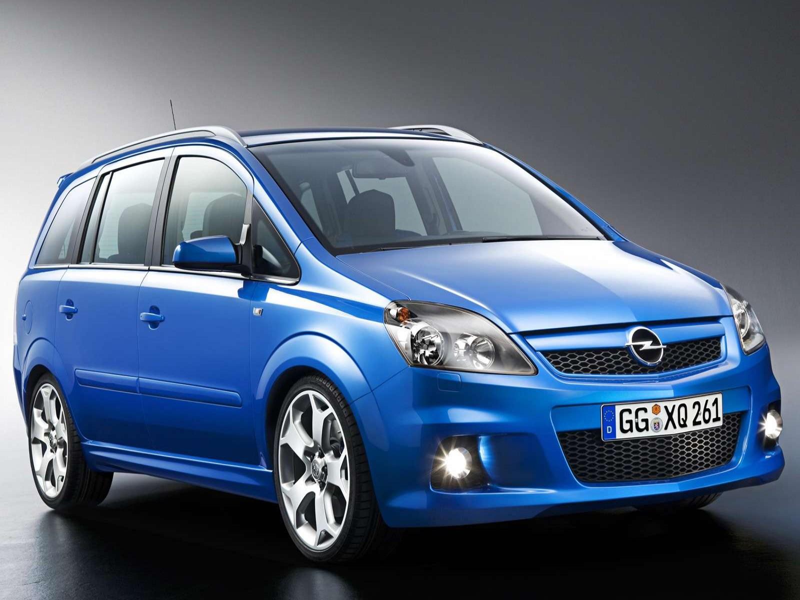 car and car zone opel zafira opc 2005 new cars car. Black Bedroom Furniture Sets. Home Design Ideas